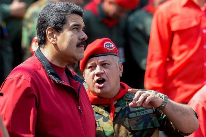 Diosdado Cabello amenazó a los periodistas que cubran los enfrentamientos en la frontera con Colombia