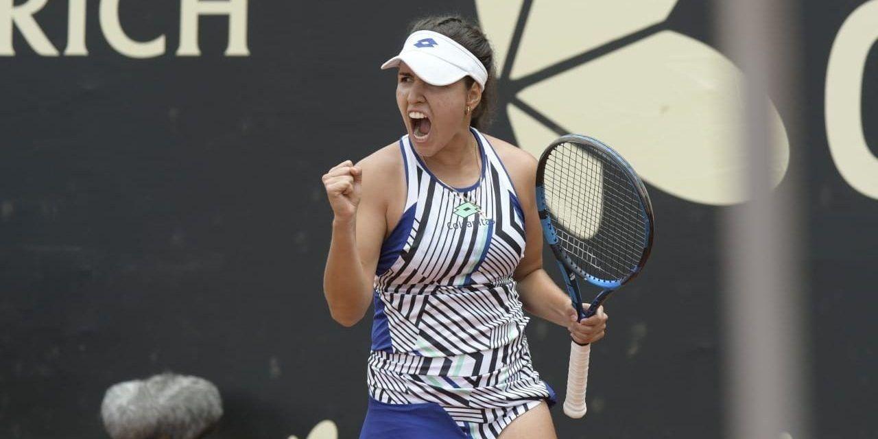 María Camila gana su primer torneo WTA