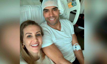 Falcao García confirma que está bien tras fractura de pómulo