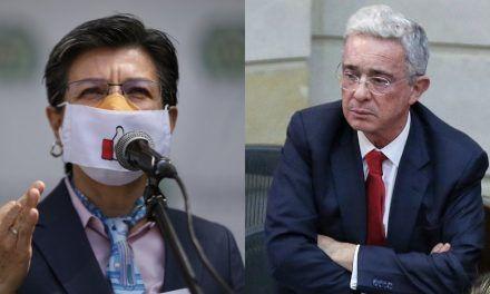 Uribe pide a Claudia López queentregue la alcaldía a Duque