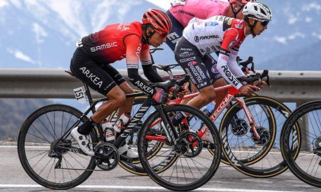 Día tranquilo para los colombianos en el Tour de los Alpes