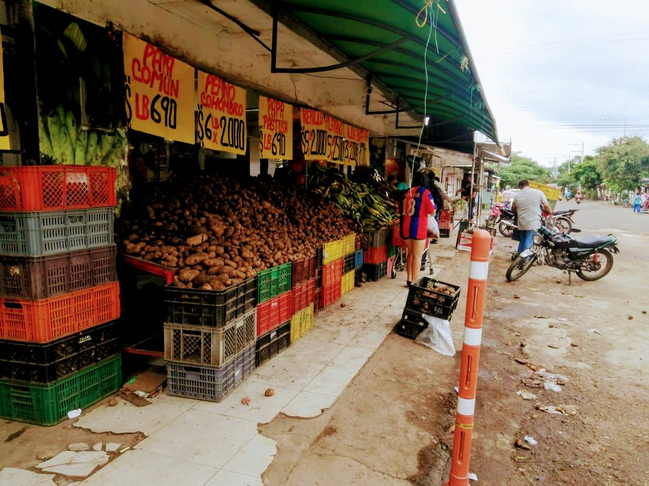 La oferta de fruver es una de las más surtidas.