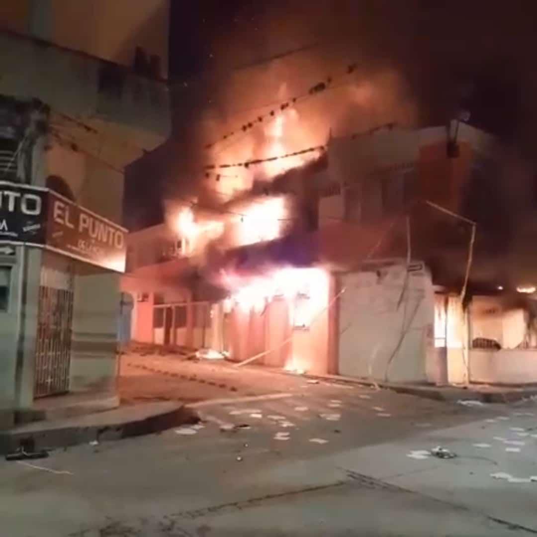 Vandalismo se tomó La Plata