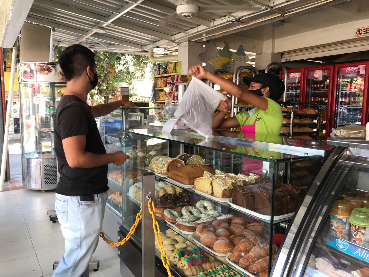 Panaderías del Huila afectadas por el paro