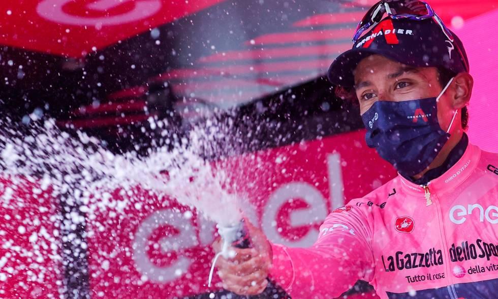 Egan Bernal ganó la novena etapa del Giro de Italia