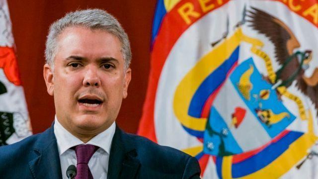 Duque se solidarizó con las victimas del Paro Nacional