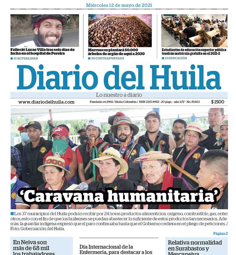 Diario del Huila 12 de mayo 2021