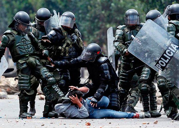 Indagación preliminar a policías por muertes de manifestantes