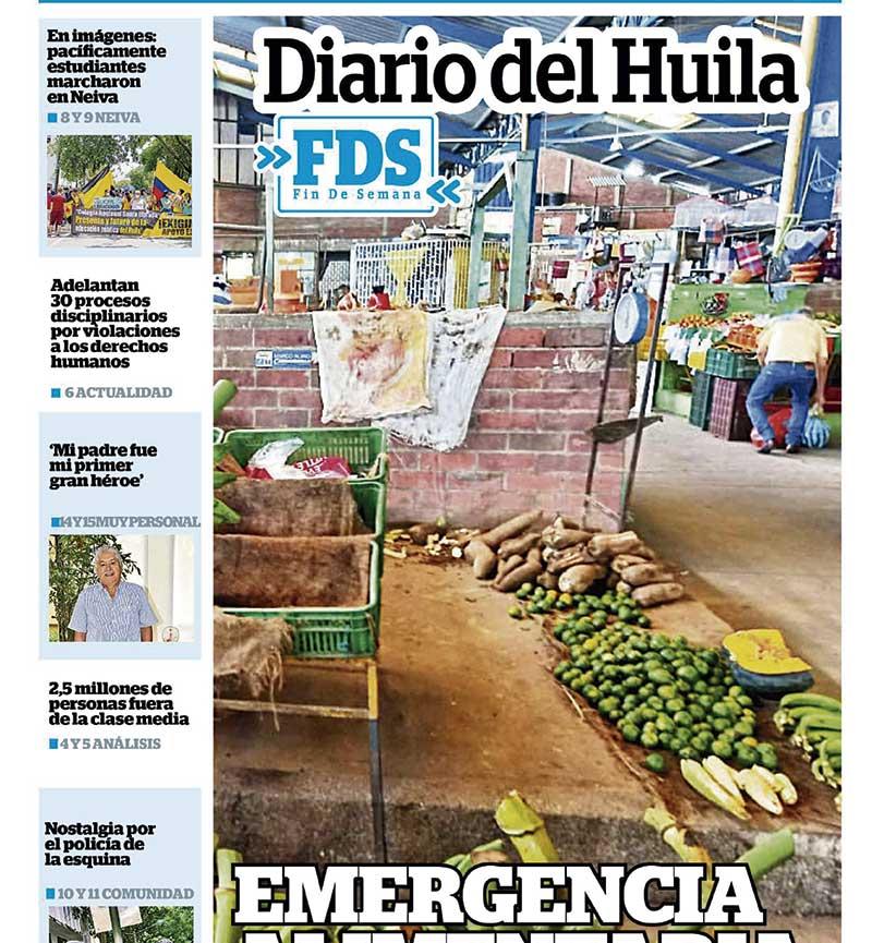 Diario del Huila 8 y 9 de mayo del 2021