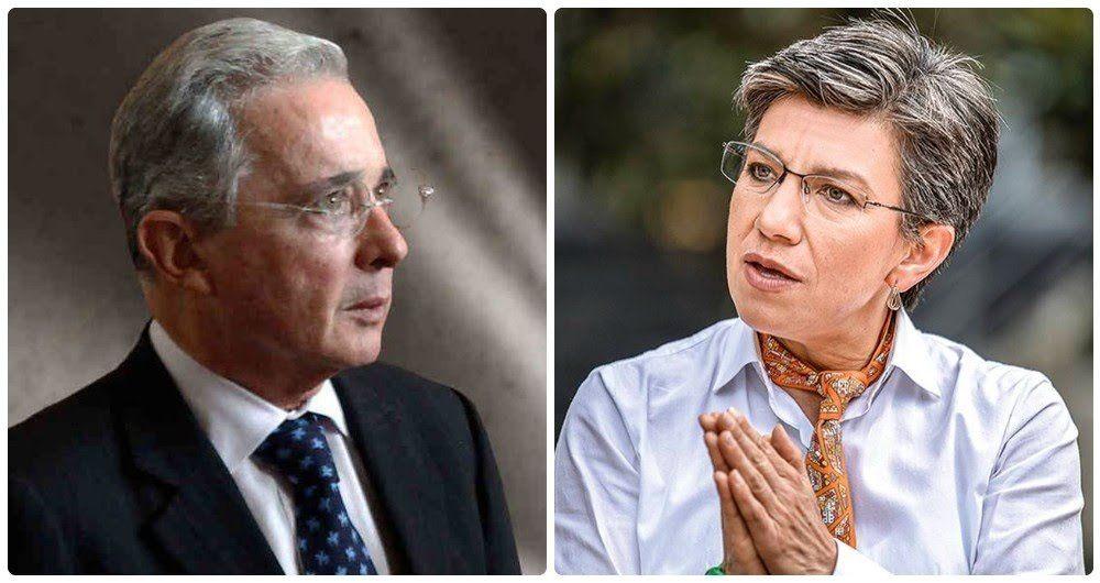 """""""Es muy repelente conmigo, pero le deseo pronta recuperación"""" : Uribe a Claudia tras ser positiva para Covid"""