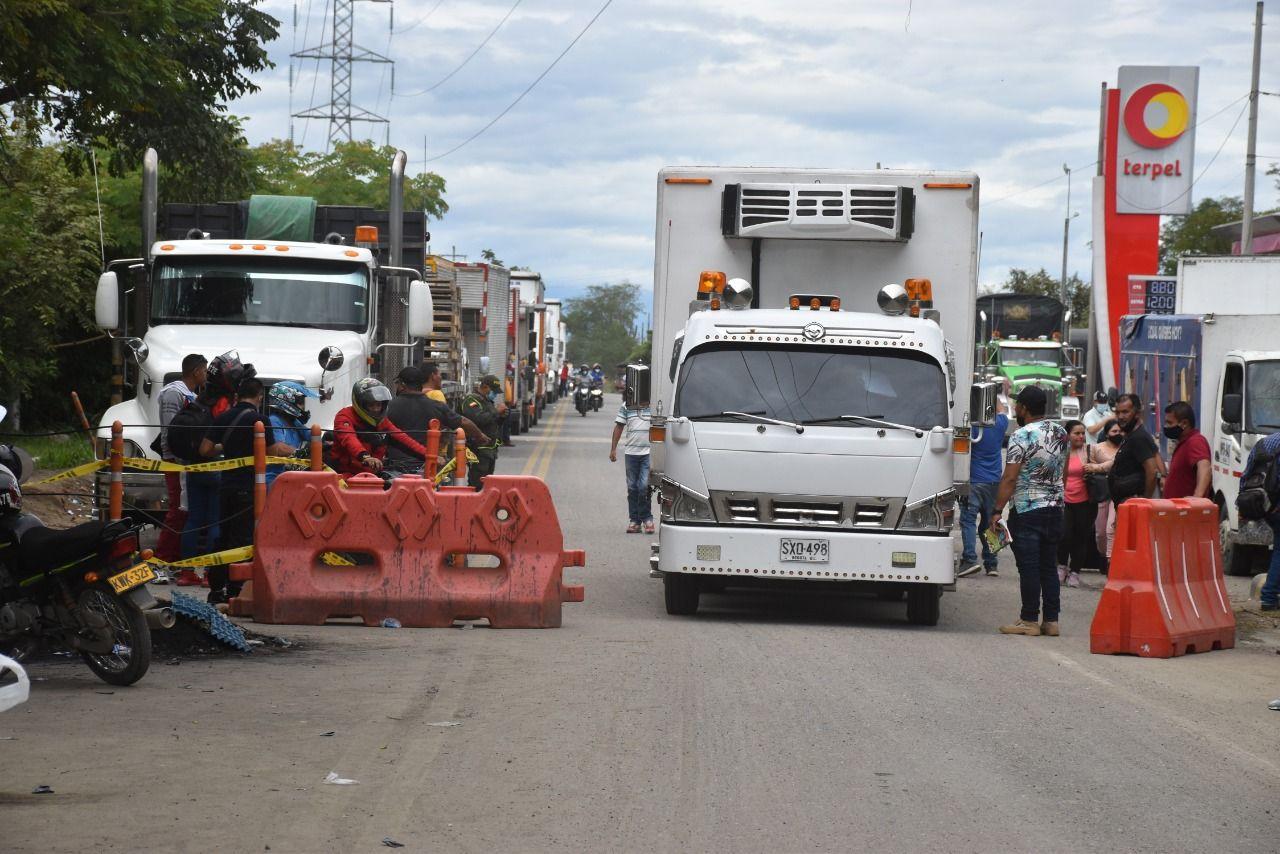 Gobierno estaría trabajando en protocolos para el desbloqueo de vías