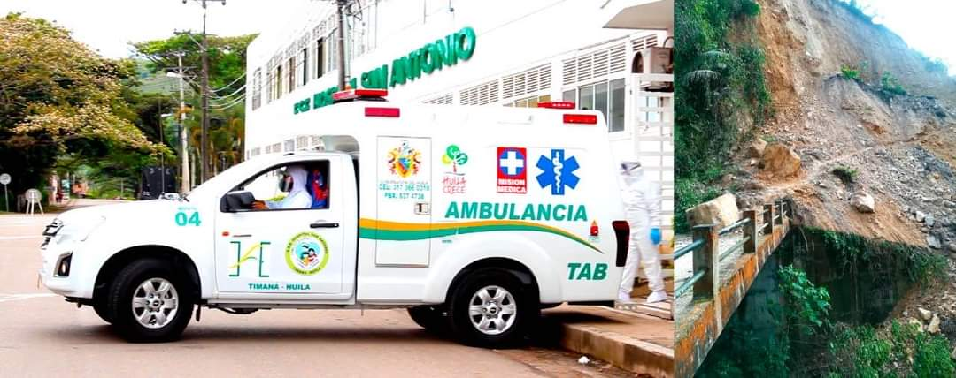 Vehículos de emergencia de Timaná se quedaron sin combustible