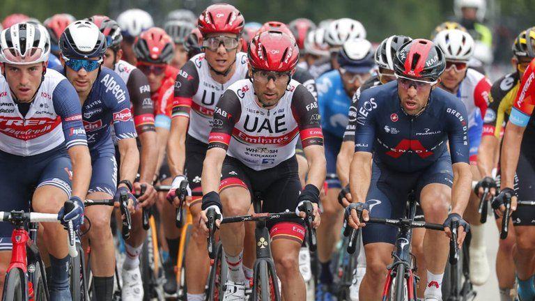 Así se posicionaron los colombianos en la tercera etapa del Giro