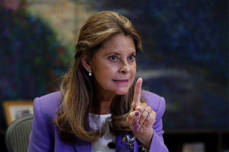 La vicepresidenta denunció injerencia de Nicolás Maduro en el paro nacional