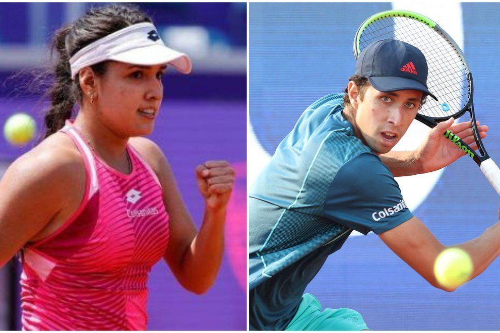 Los rivales de Camila Osorio y Daniel Galán en el Roland Garros