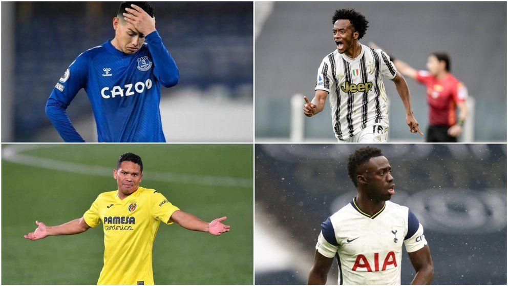 Así fue el rendimiento de los futbolistas colombianos en Europa