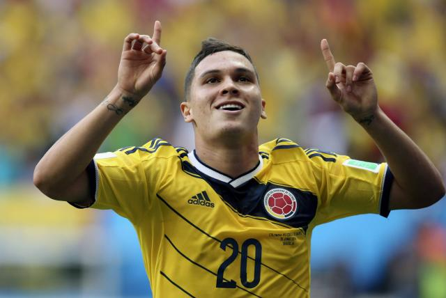 Colombia se queda sin Juan Fernando Quintero