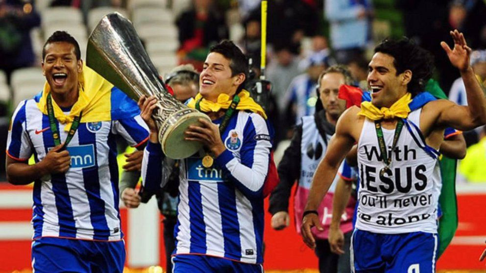 Colombianos han conquistado nueve veces la Europa League