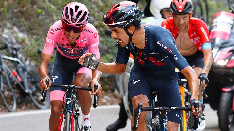 Daniel Martínez y su lucha por llegar a la élite del ciclismo mundial