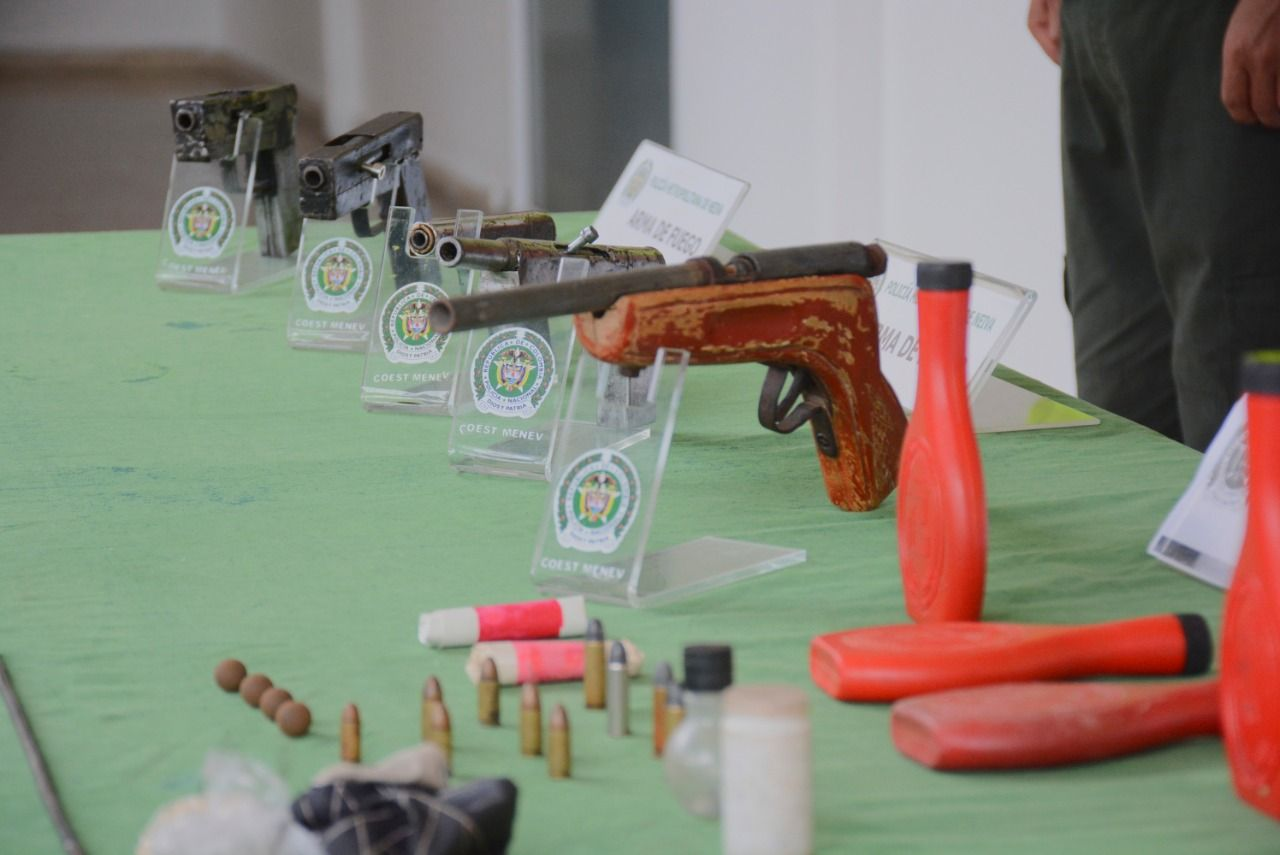 Alquilaban armas
