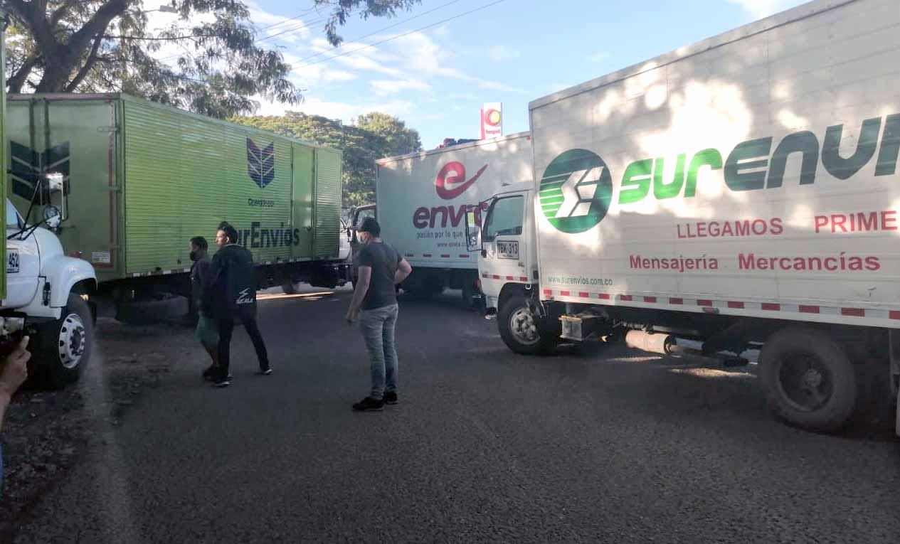 Flexibilizan bloqueo en Boquerón, entre Gigante y Garzón