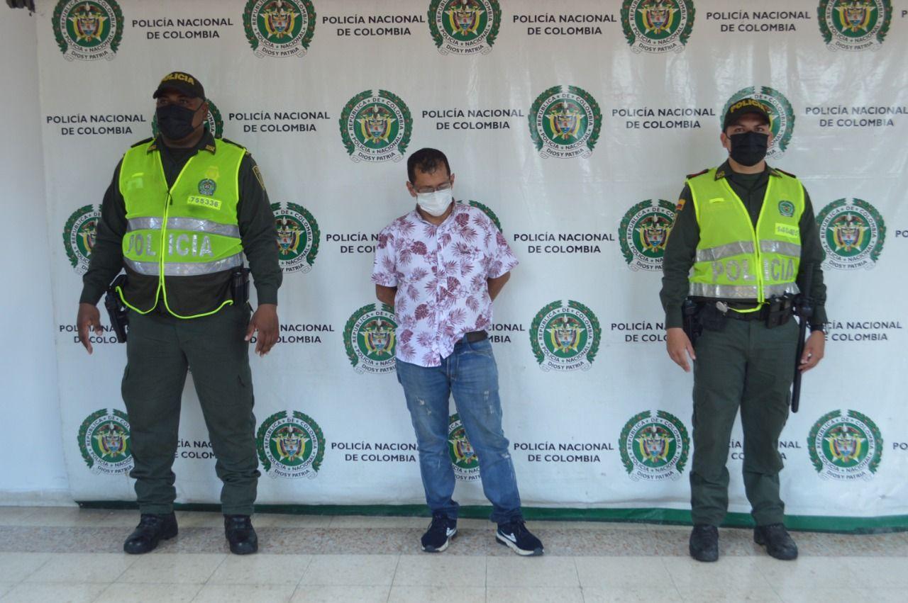 Capturado requerido por las autoridades