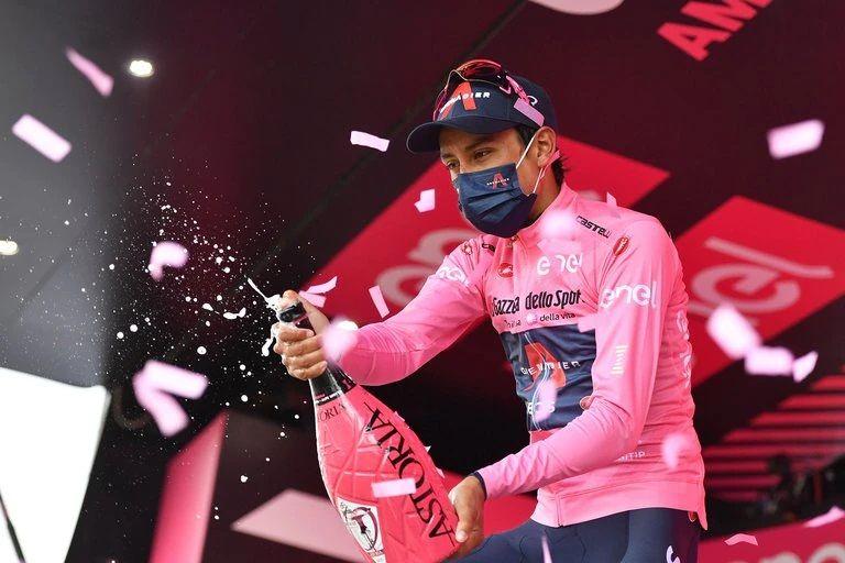A una etapa para el final del Giro 2021, Egan continúa firme en el liderato