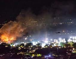 Tensa situación en Yumbo: Reportan explosión y tiroteos del Esmad durante las manifestaciones
