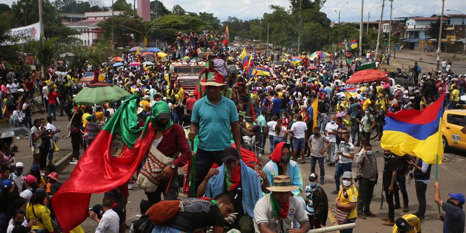 Cayó 'Jacobo', disidente FARC que infiltró protestas en Cali