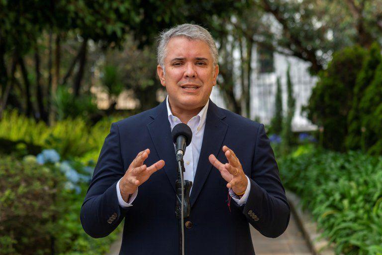 """""""La sociedad colombiana no puede estar secuestrada"""": Iván Duque"""