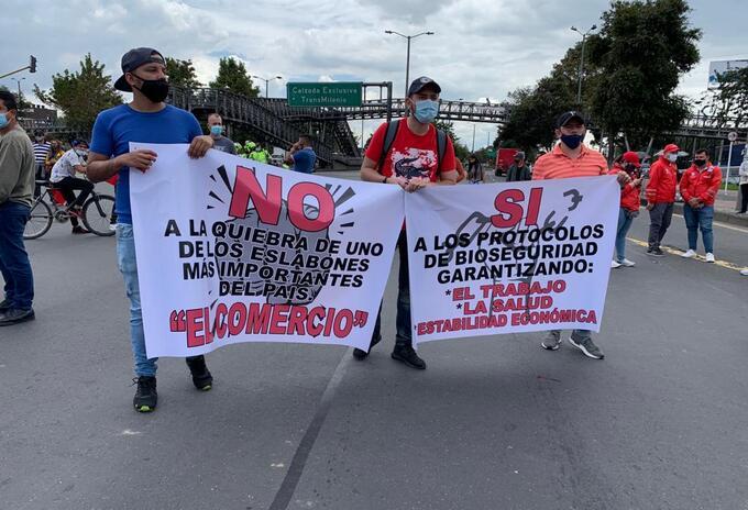 Informe consolidado de la Defensoría sobre protestas en Colombia