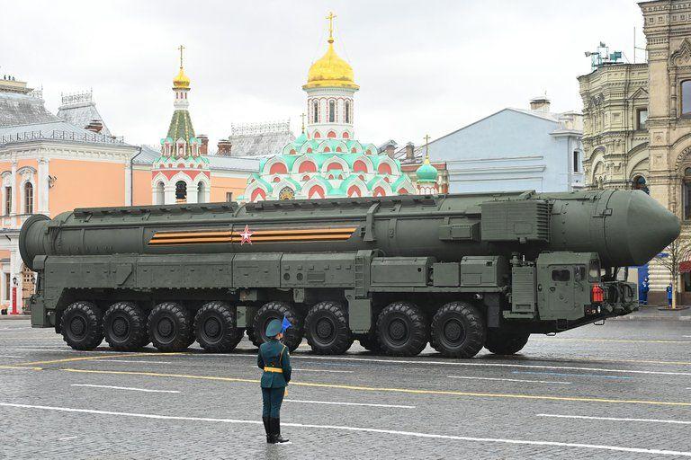 Putin mostró su poderío militar