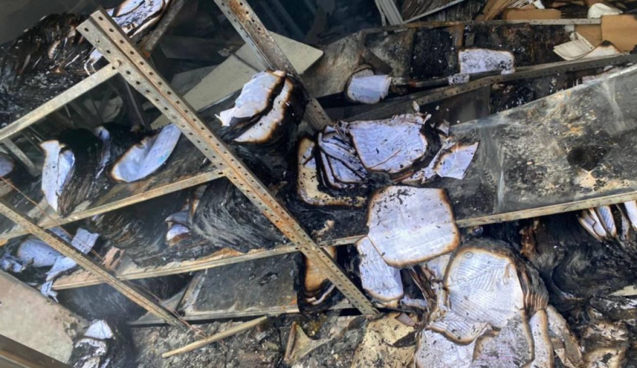 En ruinas quedó Oficina de Registro de Instrumentos Públicos de Pasto