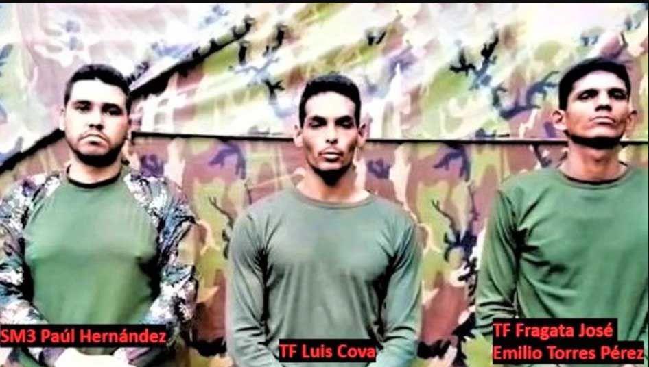 Militares venezolanos capturados por las FARC llevan un mes secuestrados
