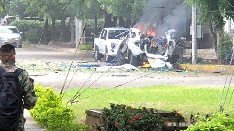 Atentado contra la base militar de Cúcuta deja 36 personas heridas