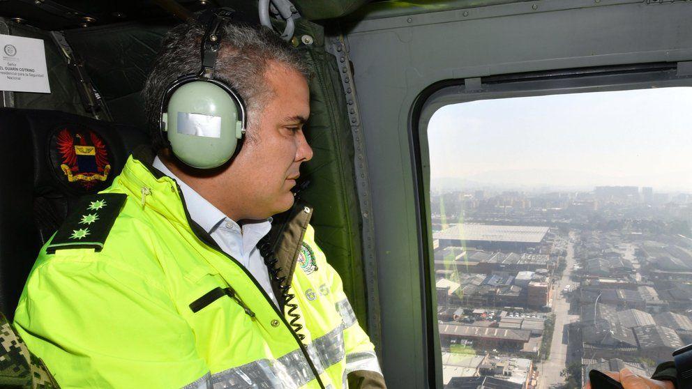 Dispararon al helicóptero en el que se movilizaba Duque en Norte de Santander