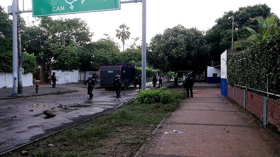"""""""Diálogo"""" para frenar disturbios en el norte de Neiva"""