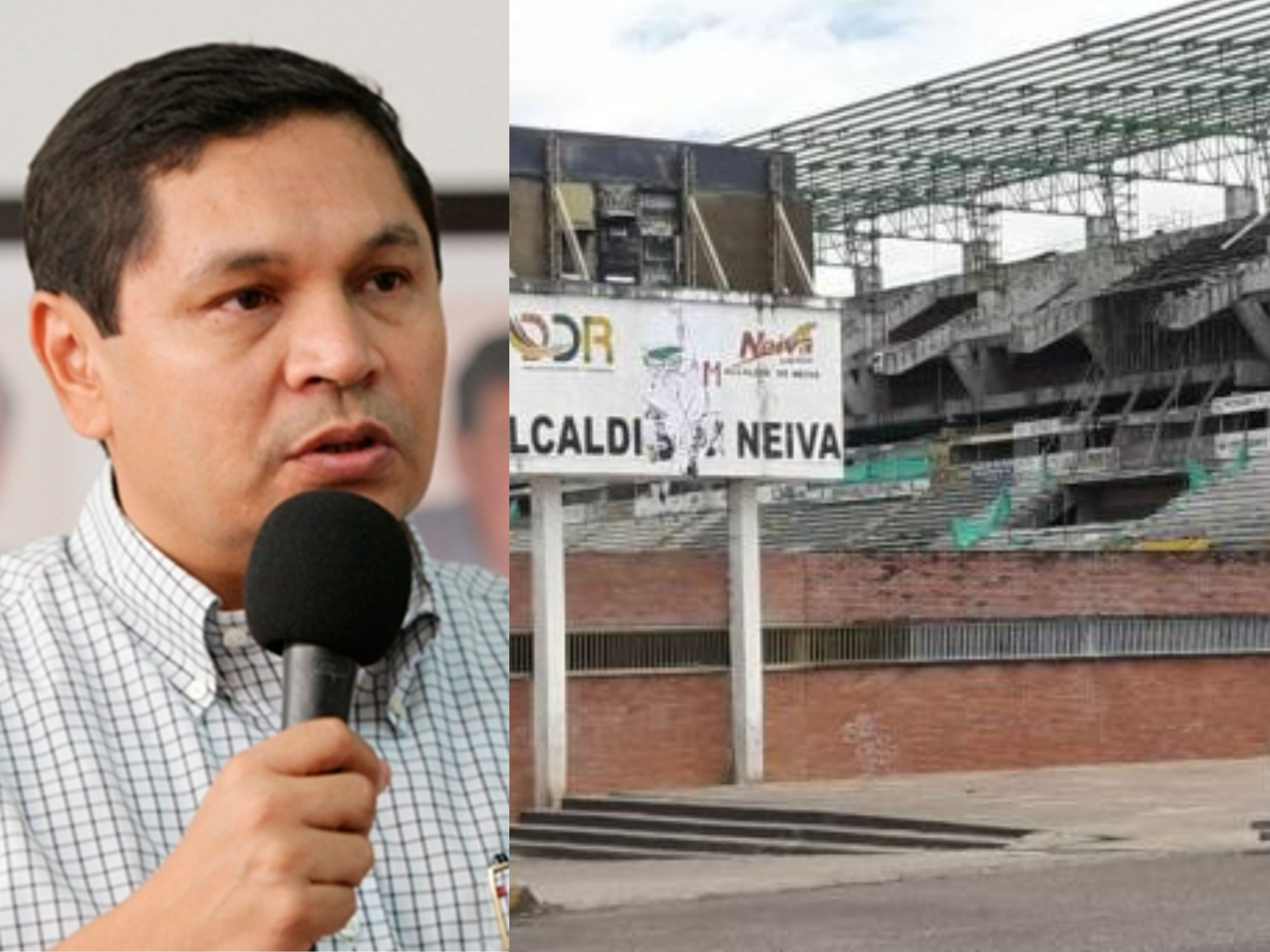 Pedro Suárez, exonerado de las irregularidades en el estadio 'Guillermo Plazas Alcid'