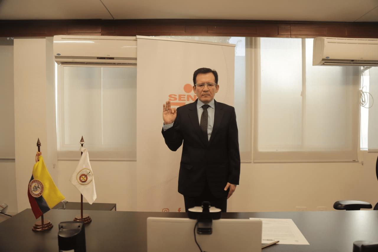 Posesionado nuevo director regional del SENA