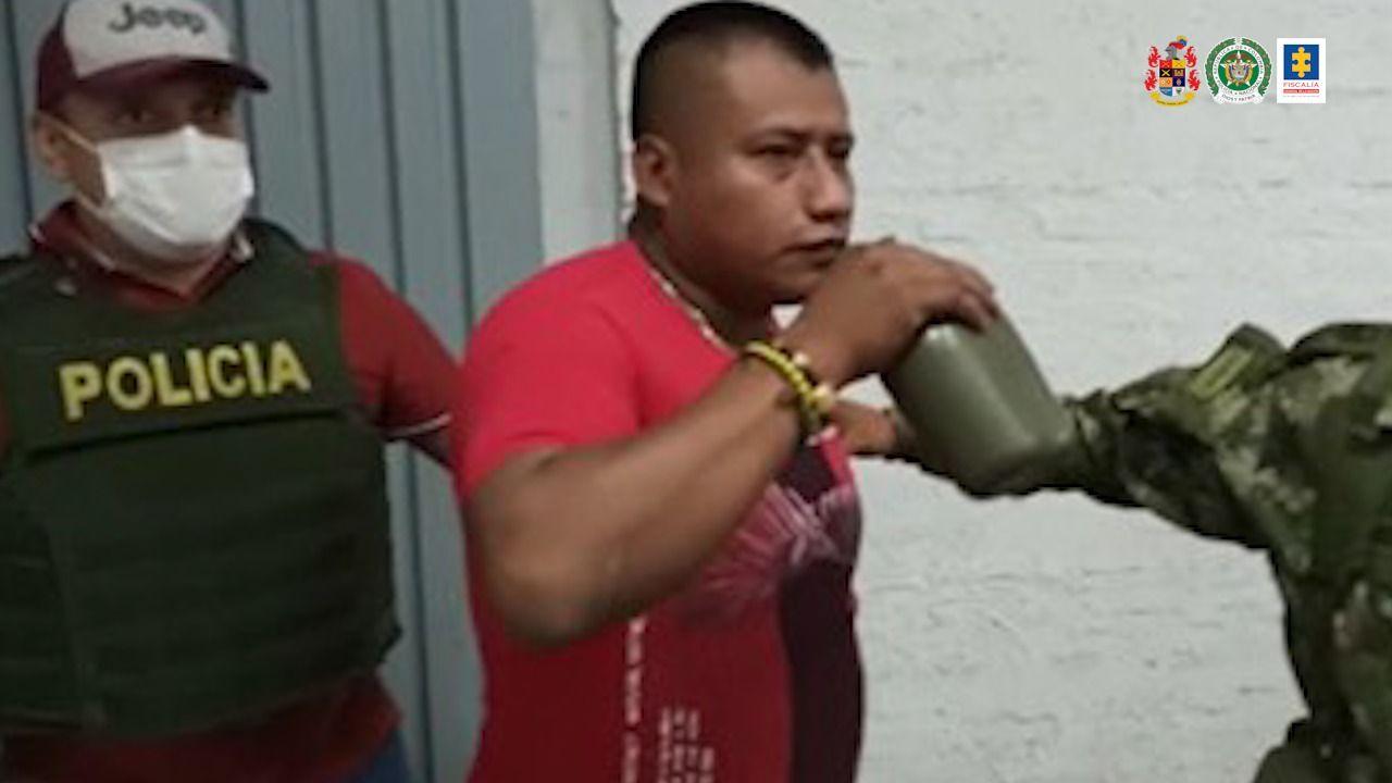Fiscalía imputa cargos a 'Indio amansador' por delitos contra líderes sociales en el Cauca