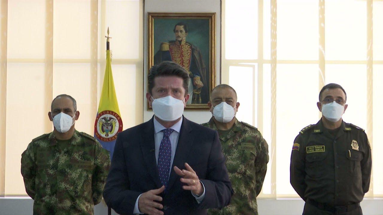 Ministro de Defensa preside Consejo de Seguridad en Pitalito