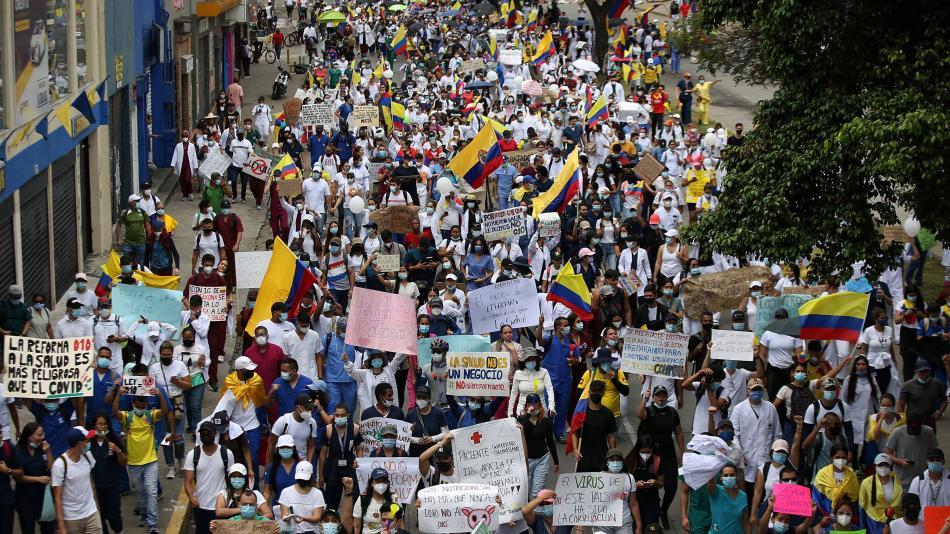 Comité del Paro anuncia 'toma de Bogotá' para el próximo 9 de junio