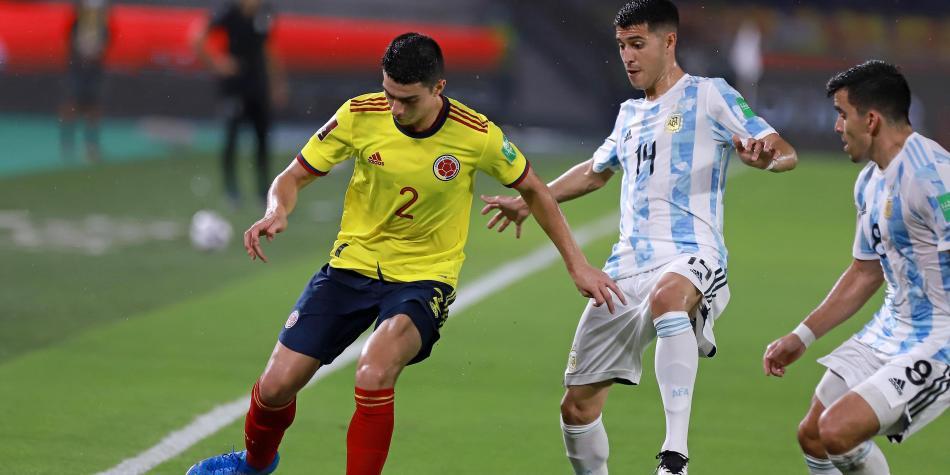 Las estadísticas tras el empate entre Colombia y Argentina en Barranquilla
