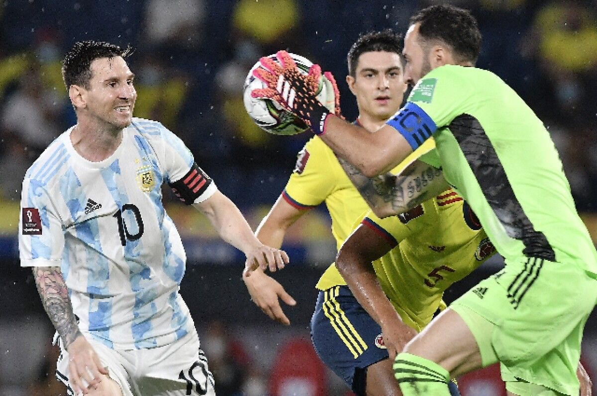 Los duelos de Ospina ante los argentinos