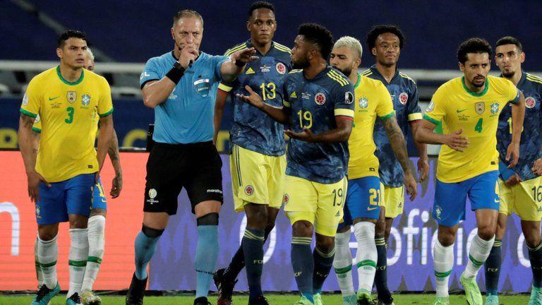 Federación Colombiana exigió suspensión de árbitros