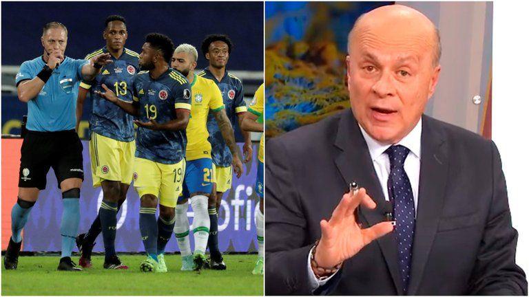 """""""Que no nos crean imbéciles"""": Carlos Antonio Vélez tras polémico gol"""