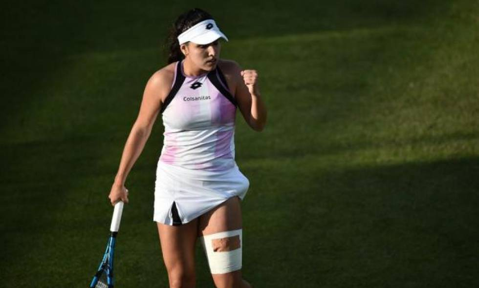 Camila Osorio volvió a ganar y está a un triunfo de clasificar al cuadro principal de Wimbledon