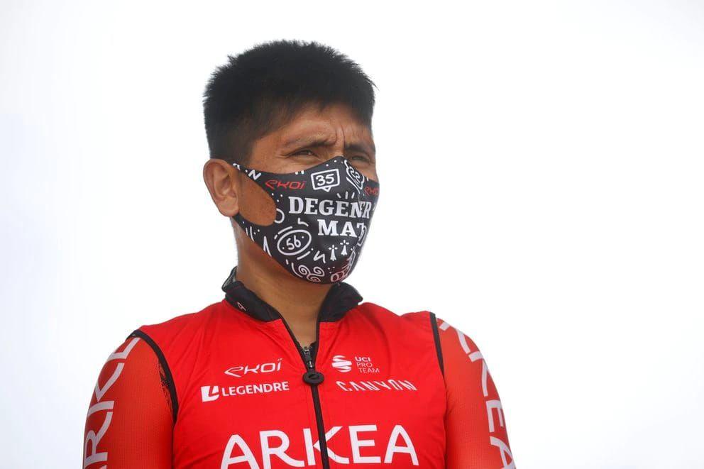 Nairo Quintanta se mostró optimista en el inicio del Tour de Francia