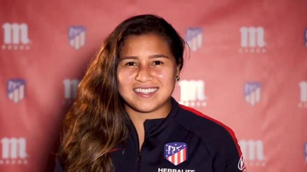 Leicy Santos, destacada como la mejor jugadora del Atlético de Madrid