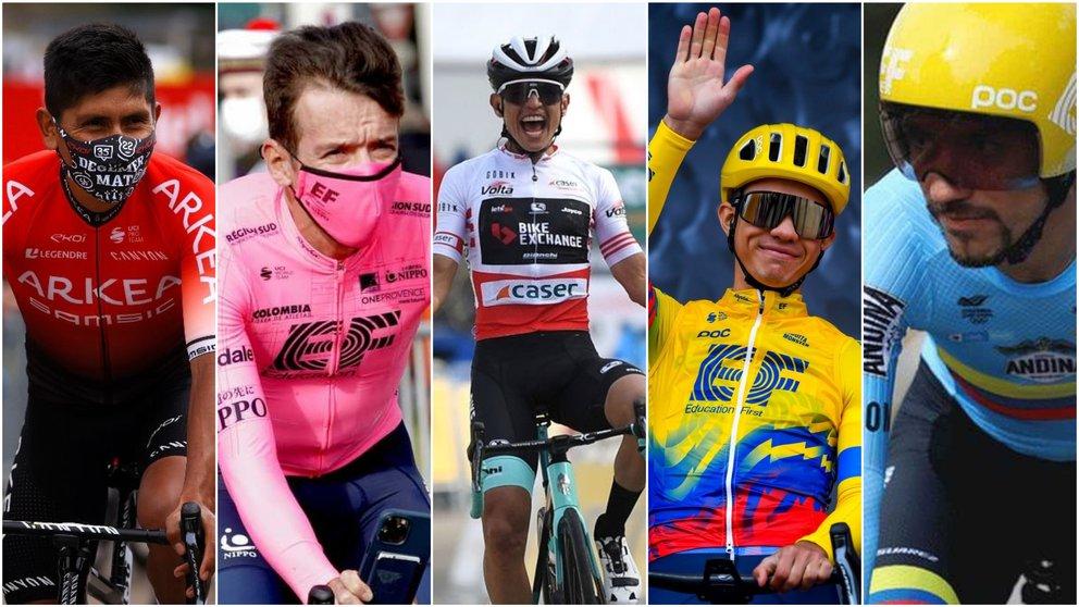 Los ciclistas colombianos que repetirán en los Juegos Olímpicos